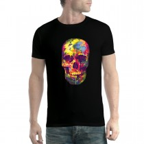 Painted Skull Funny Colourful Men T-shirt XS-5XL New
