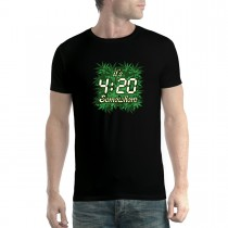 Pot Weed Cannabis Marijuana Men T-shirt XS-5XL