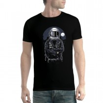 Astronaut Pilot Rebel Mens T-shirt XS-5XL