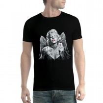 Marilyn Monroe Hearts Butterflies Angel Men T-shirt XS-5XL