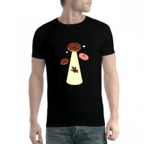 Doughnut UFO Abduction Donut Men T-shirt XS-5XL
