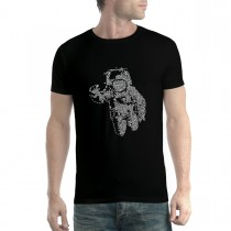 Astronaut Space Mission Cosmos Mens T-shirt XS-5XL
