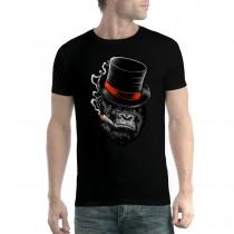 Gangster Gorilla Mafia Boss Smoking Mens T-shirt XS-5XL New