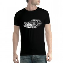 Hotrod Classic Car Mens T-shirt XS-5XL