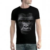 Gorilla Face Ape Mens T-shirt XS-5XL