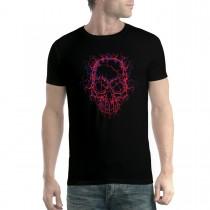 High Voltage Skull Men T-shirt XS-5XL New