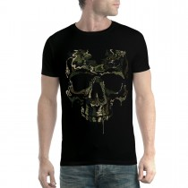 Soldier Skull Military Mens T-shirt XS-5XL