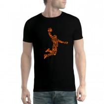 Slam Dunk Basketball Mens T-shirt XS-5XL