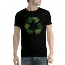 Recycle Sign Clean Earth Mens T-shirt XS-5XL