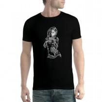 Hot Girl Latina Dancer Mens T-shirt XS-5XL