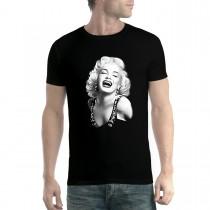 Marilyn Monroe Smile Icon Famous Men T-shirt XS-5XL