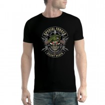 Special Forces Military Skull Mens T-shirt XS-5XL