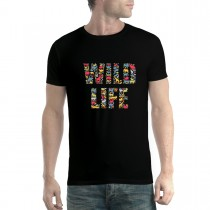 Wild Life Animals Mens T-shirt XS-5XL