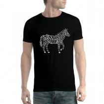 Zebra Bones X-Ray Mens T-shirt XS-5XL