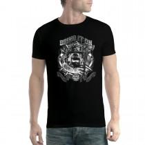 Bulldog Fireman Axe Men T-shirt XS-5XL New