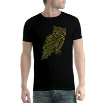 Electric Owl Mens T-shirt XS-5XL