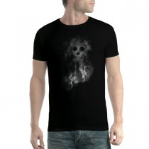 Smoke Skull Death Men T-shirt XS-5XL New