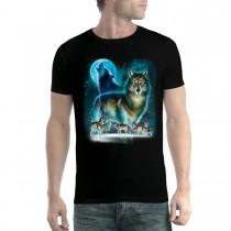 Howling Wolf Horde Men T-shirt XS-5XL New