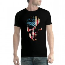American Skull Men T-Shirt XS-5XL