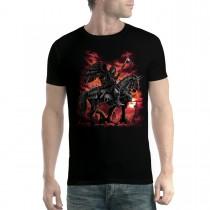 Death Angel Black Horse Scythe Men T-shirt XS-5XL New