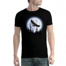 Flying Eagle Dark Night Men T-shirt XS-5XL