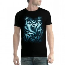 Ghosts Meeting Scary Men T-shirt XS-5XL New