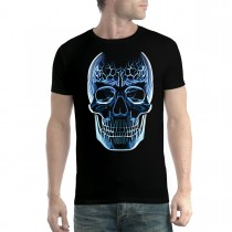 Glass Skull Brain Men T-shirt XS-5XL New