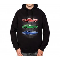 1970 Dodge Challenger Classic Car Men Hoodie S-3XL