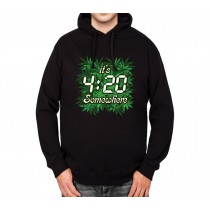 Pot Weed Cannabis Marijuana Mens Hoodie S-3XL