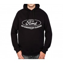 Ford Mustang Logo American Classic Mens Hoodie S-3XL