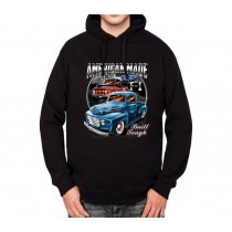 Ford F-1 Series Pickup Truck Mens Hoodie S-3XL