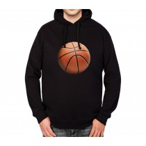 Basketball Sport Ball 3D Mens Hoodie S-3XL