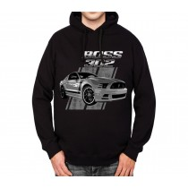 Ford Mustang 50 Years Boss 302 Mens Hoodie S-3XL