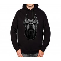 Doberman Dog Mens Hoodie S-3XL
