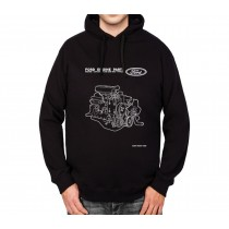 Ford Engine Parts Mens Hoodie S-3XL