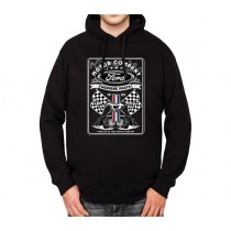 Ford Motor Company Mens Hoodie S-3XL