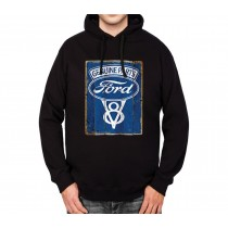 Ford Genuine Parts Mens Hoodie S-3XL