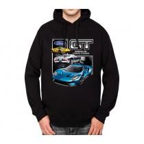 Ford GT Supercar Mens Hoodie S-3XL