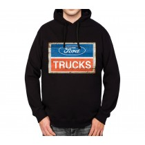 Ford Truck Logo Classic Mens Hoodie S-3XL