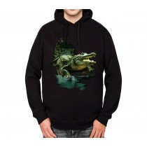 Alligator Crocodile Swamp Mens Hoodie S-3XL