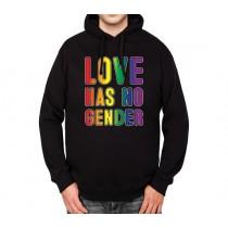 Love Has No Gender LGBT Mens Hoodie S-3XL