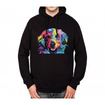 Golden Retriever Mens Hoodie S-3XL