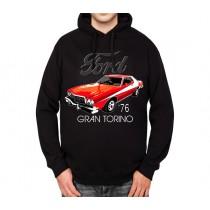 Ford Gran Torino 1976 Mens Hoodie S-3XL
