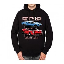 Ford GT40 Le Mans Mens Hoodie S-3XL