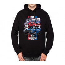Ford Mustang Shelby Cobra GT500 1969 Mens Hoodie S-3XL