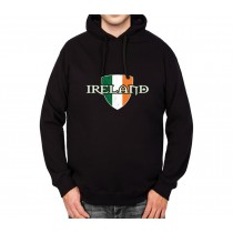 Ireland Flag Proud and Irish Mens Hoodie S-3XL