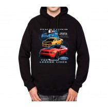 Ford Mustang Boss 302 The Legend Mens Hoodie S-3XL