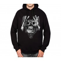 Death Wish Surprise Mens Hoodie S-3XL