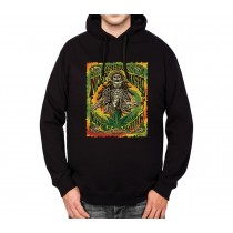 Skeleton Bong Marijuana Dreadlocks Mens Hoodie S-3XL