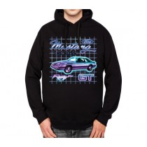 Ford Mustang GT Classic Mens Hoodie S-3XL